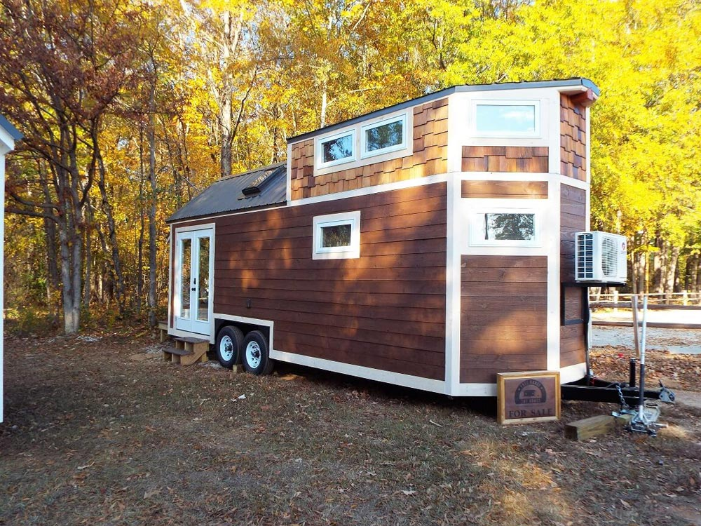 Rough Sawn Lap Siding - Skyline by Free Range Tiny Homes