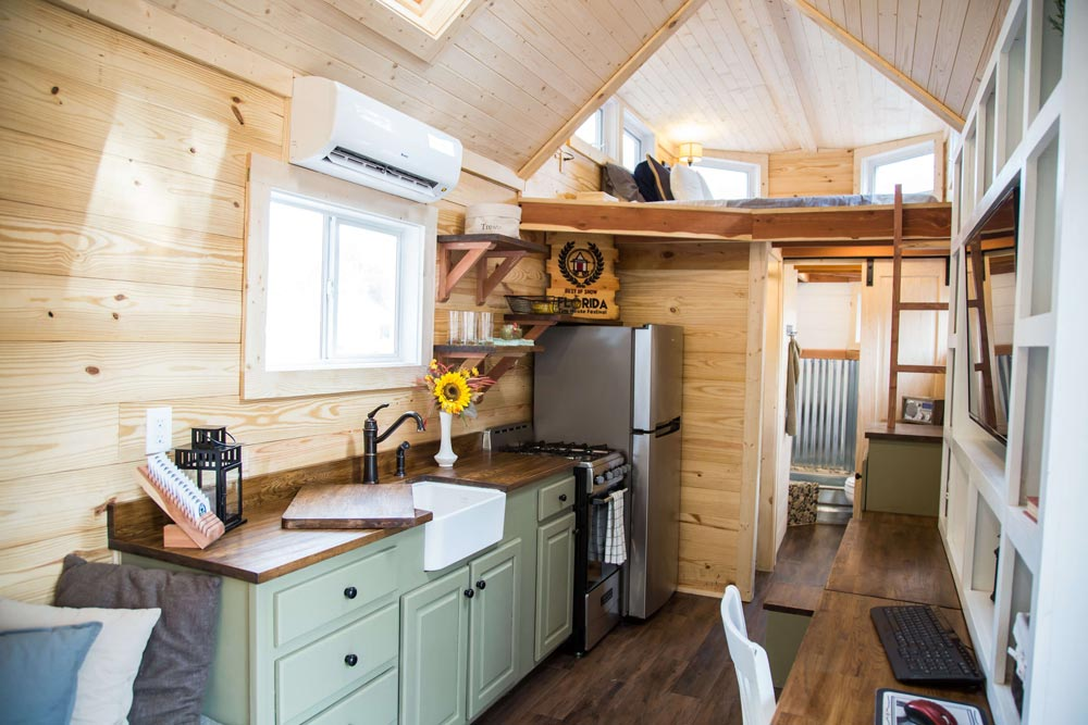 Custom Kitchen Cabinets - Skyline by Free Range Tiny Homes