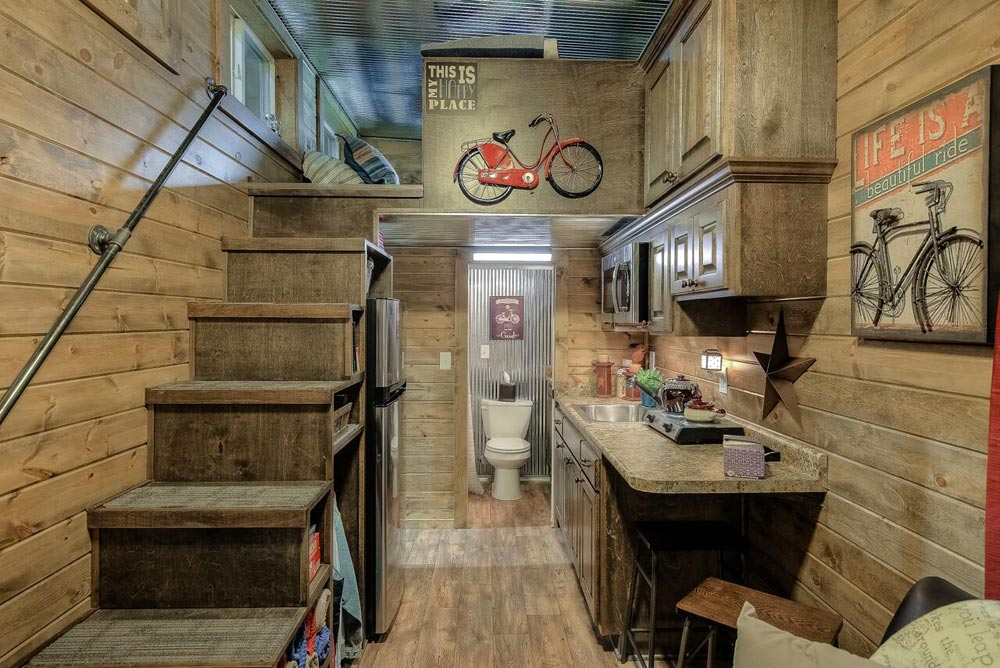 Rustic Cabin Theme - Weekender by Custom Container Living