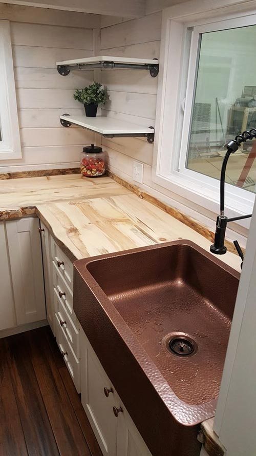 Copper Sink - Artist by Alpine Tiny Homes