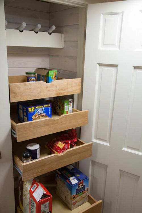 Pull-Out Shelves - Artist by Alpine Tiny Homes