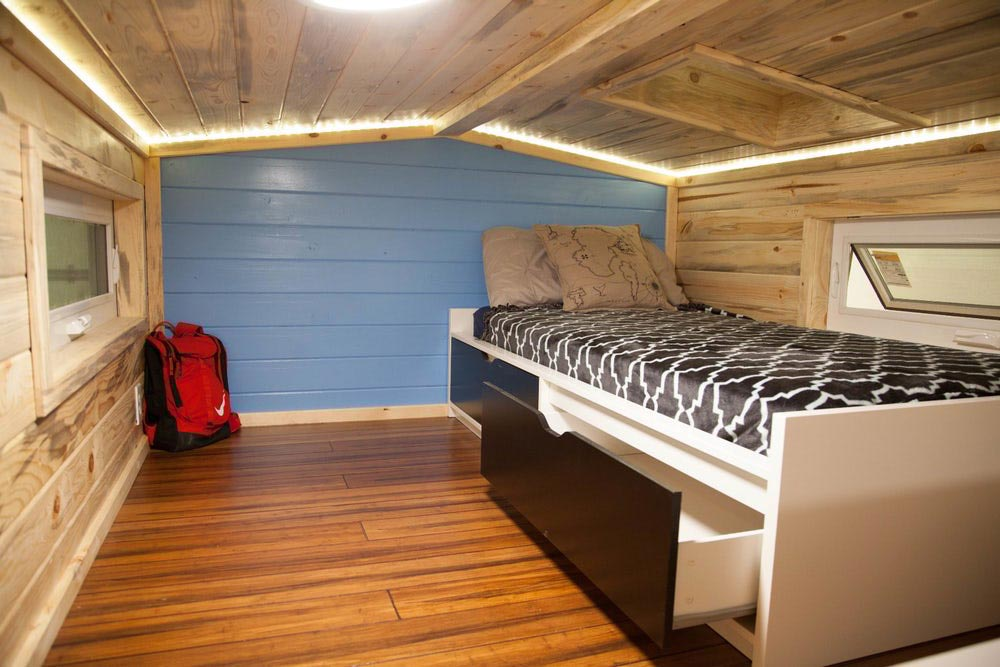 Bedroom Loft - Artist by Alpine Tiny Homes