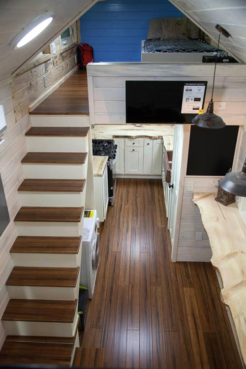 Bamboo Flooring - Artist by Alpine Tiny Homes