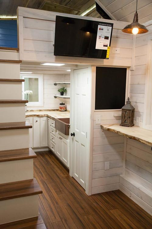Stairs & Storage - Artist by Alpine Tiny Homes