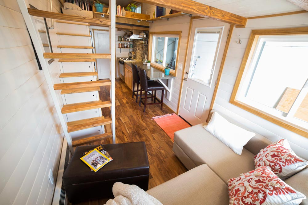 Living Room - Custom Tiny House by Big Freedom Tiny Homes