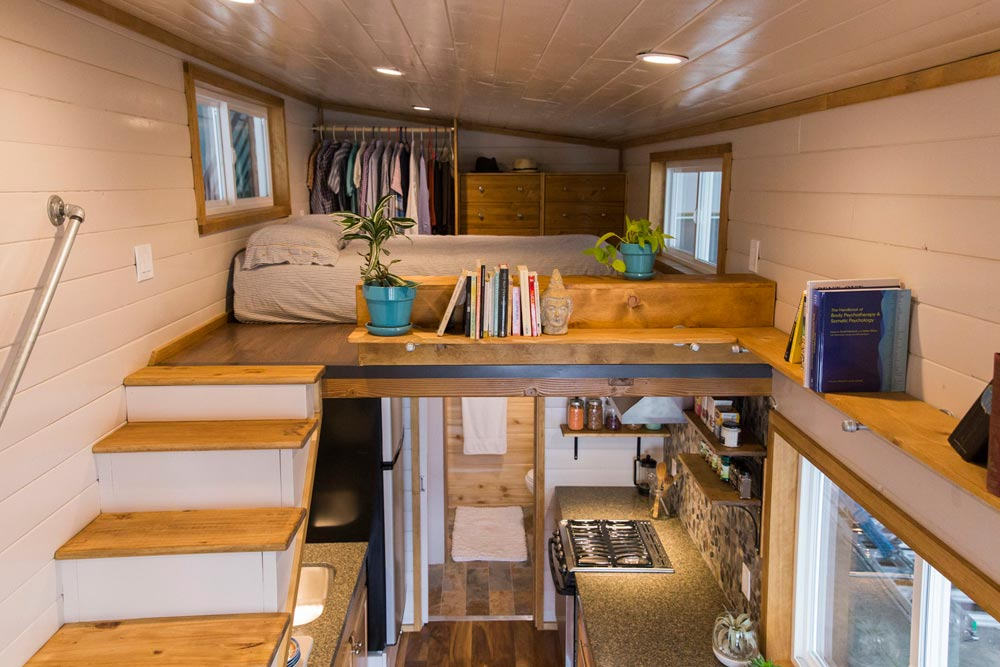 Master Loft - Custom Tiny House by Big Freedom Tiny Homes