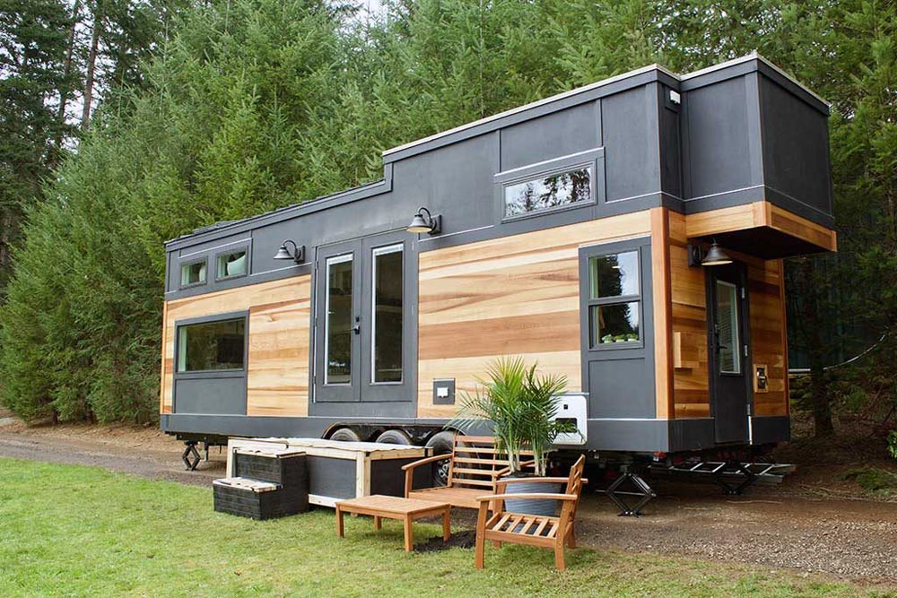 tiny home big outdoors by tiny heirloom tiny living. Black Bedroom Furniture Sets. Home Design Ideas