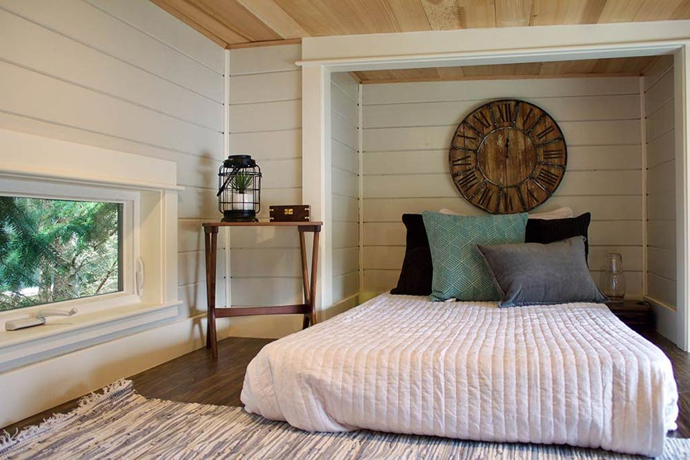 Bedroom Detail - Tiny Home, Big Outdoors by Tiny Heirloom