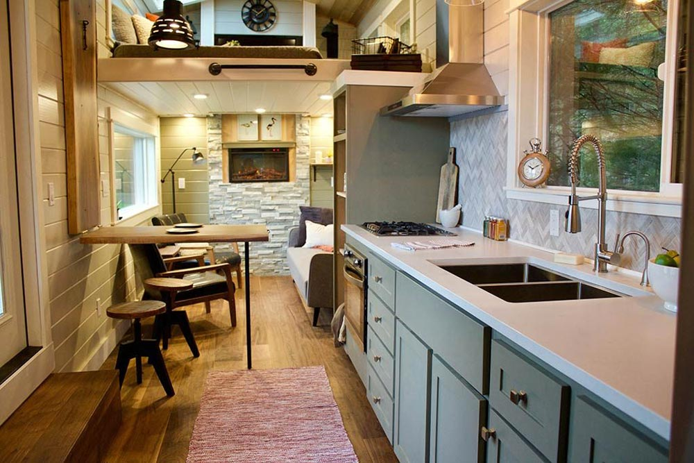 Kitchen Cabinets - Tiny Home, Big Outdoors by Tiny Heirloom