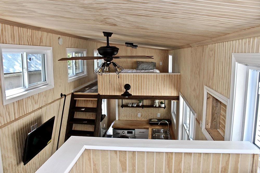 Bedroom Lofts - Chalet Shack by Mini Mansions