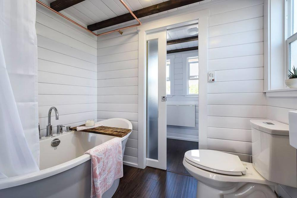 Bathroom - Custom Loft Edition by Mint Tiny Homes