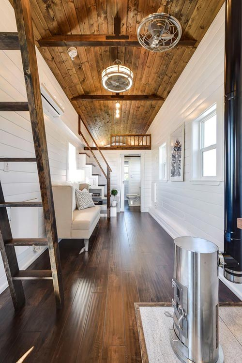 Interior - Custom Loft Edition by Mint Tiny Homes