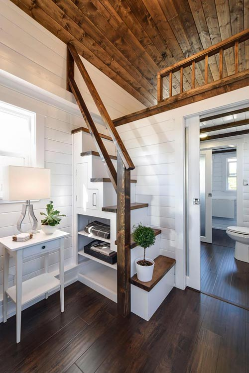 Staircase - Custom Loft Edition by Mint Tiny Homes