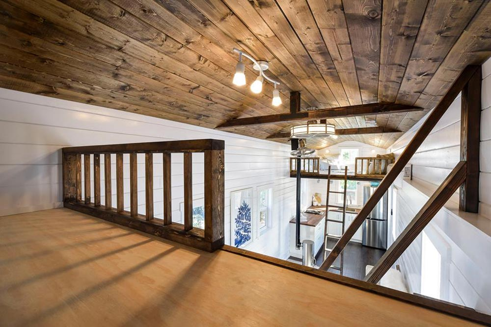 View From Loft - Custom Loft Edition by Mint Tiny Homes