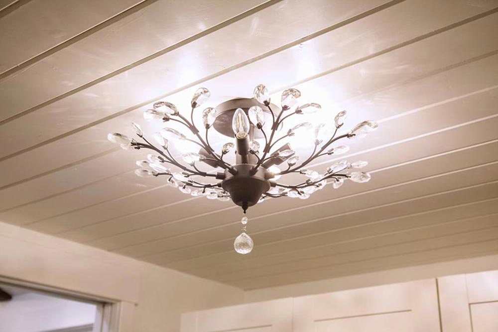 Chandelier - English Rose by Alpine Tiny Homes