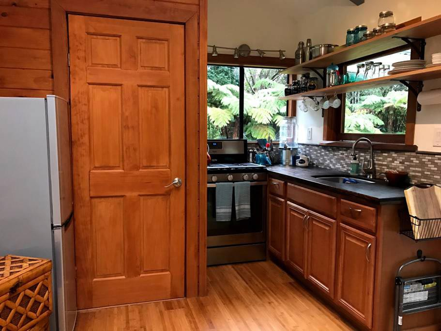 Kitchen - Hale Iki Tiny House
