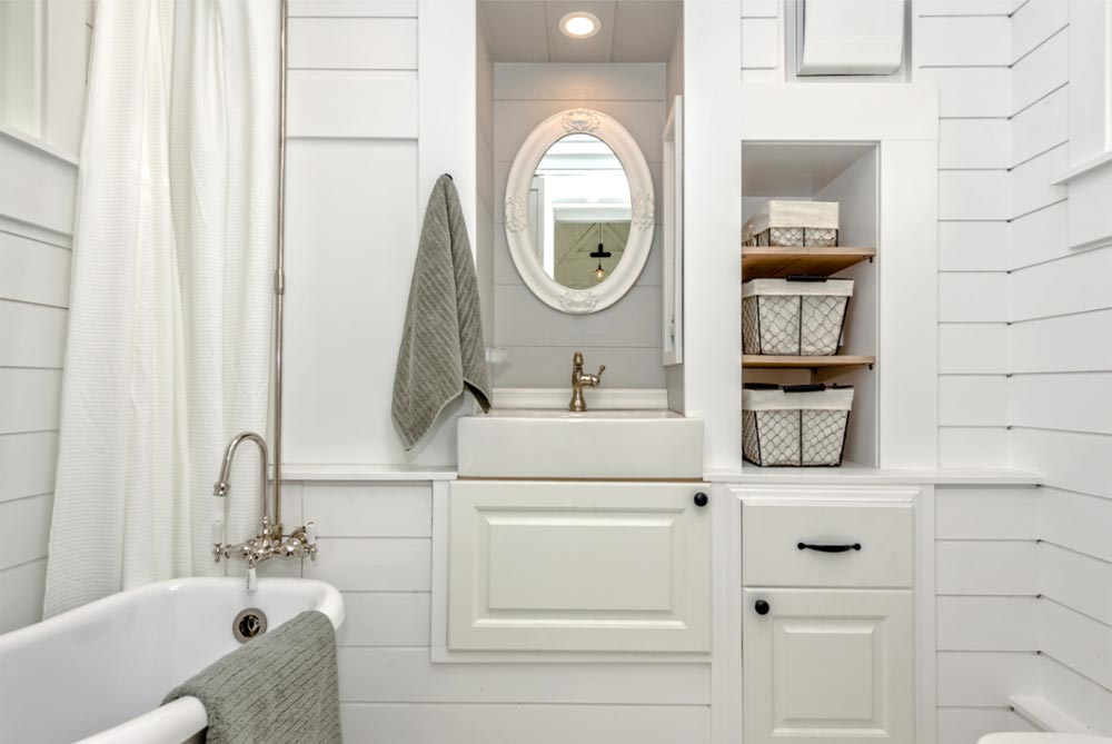 Vanity & Storage - Heritage by Summit Tiny Homes