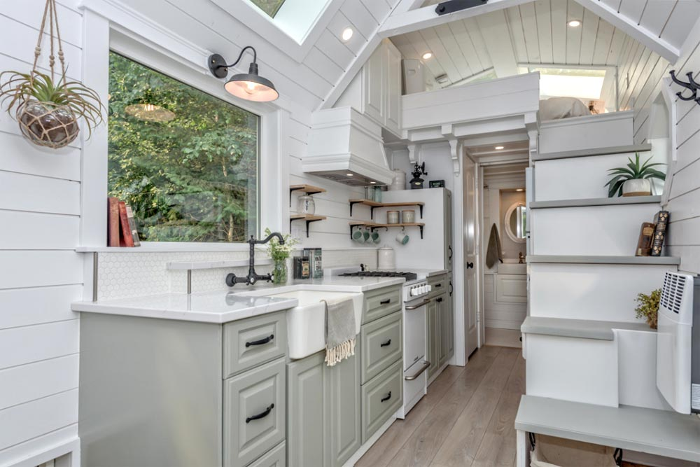 Vintage Kitchen - Heritage by Summit Tiny Homes