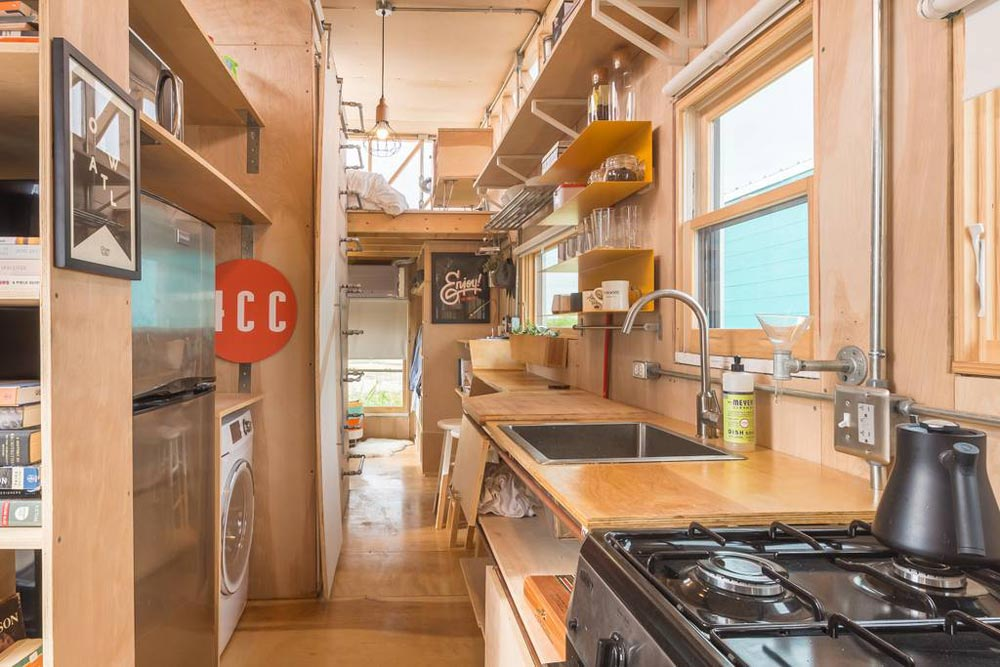 Interior View - Kinetohaus Tiny House
