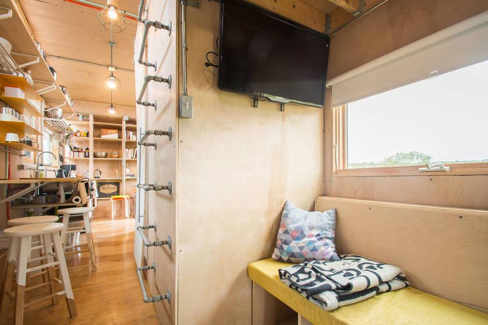 Living Room - Kinetohaus Tiny House