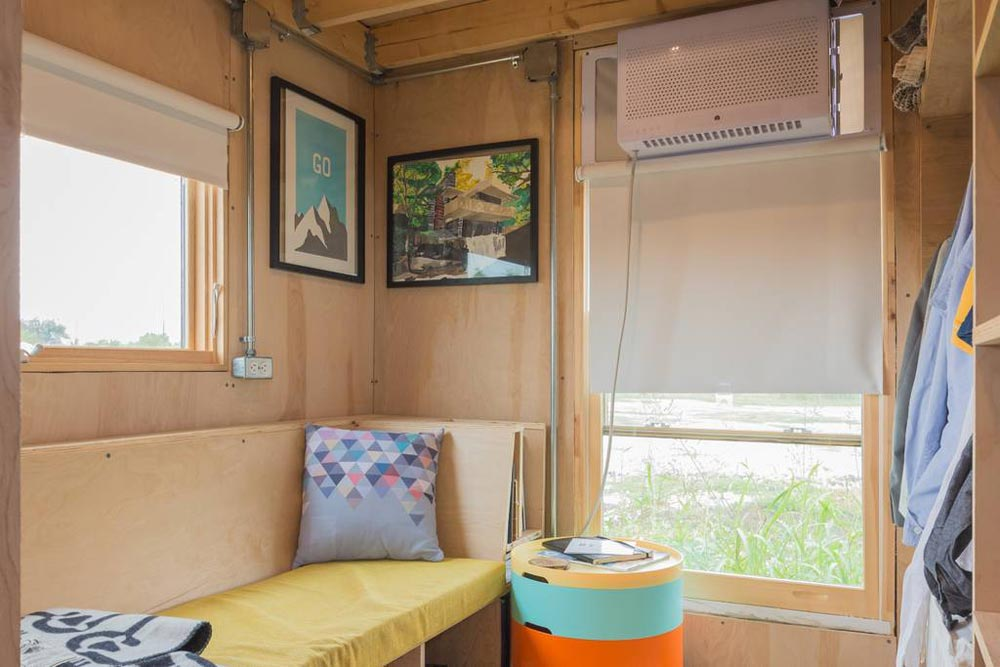 Large Windows - Kinetohaus Tiny House