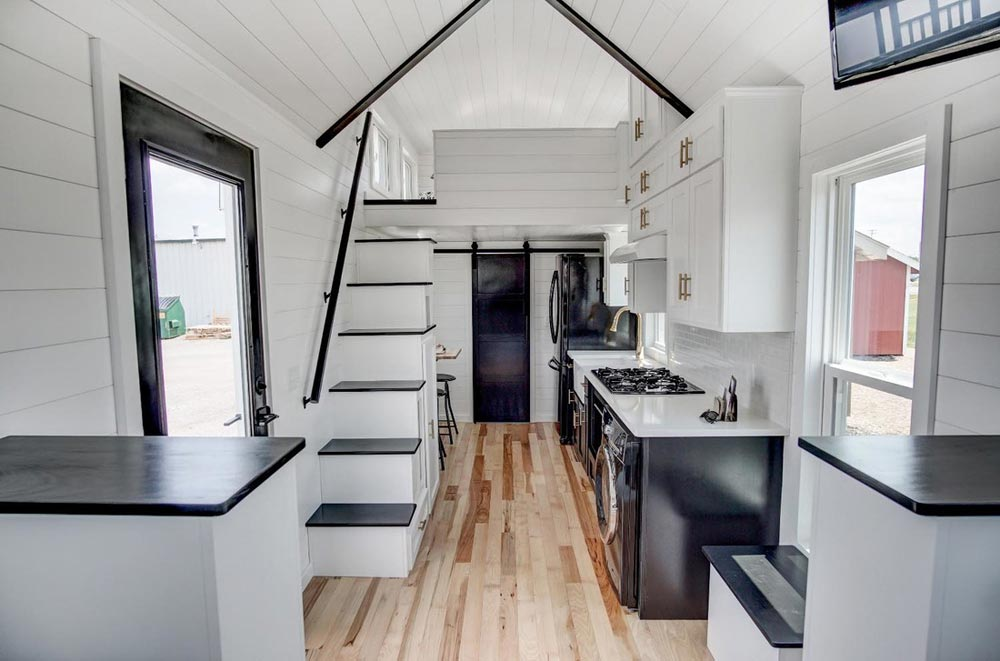 Kokosing 2 by modern tiny living tiny living for Tiny house interieur