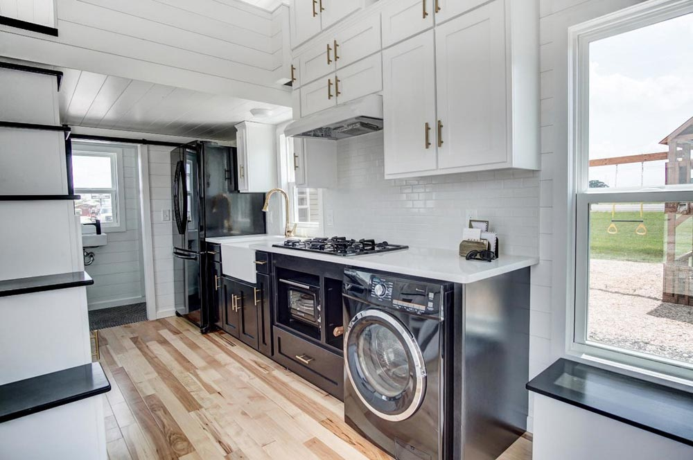 Black Stainless Steel Appliances - Kokosing 2 by Modern Tiny Living