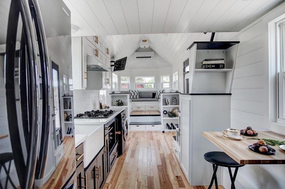 Acacia Wood Flooring - Kokosing 2 by Modern Tiny Living