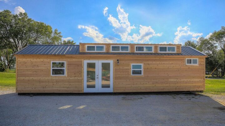 Lake Cabin by Custom Container Living