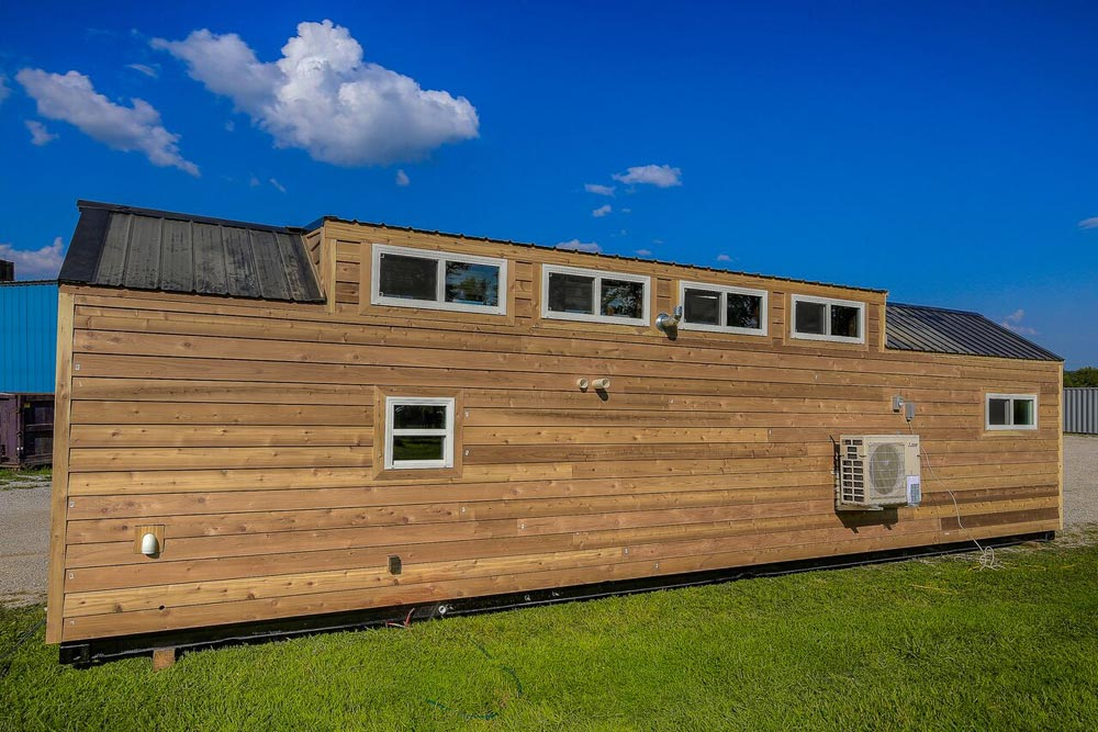 40' Shipping Container Home - Lake Cabin by Custom Container Living