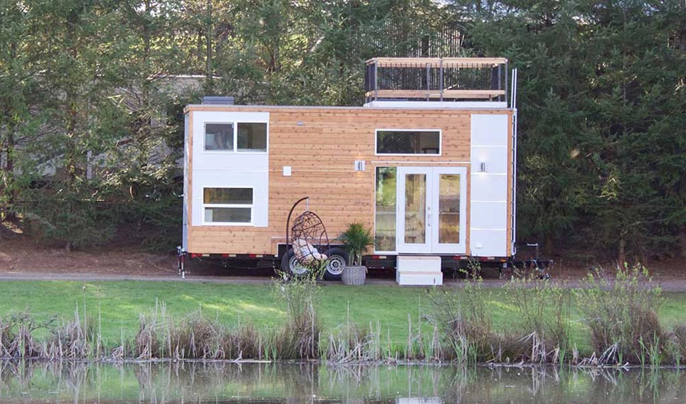 Modern Exterior - Live/Work Tiny Home by Tiny Heirloom