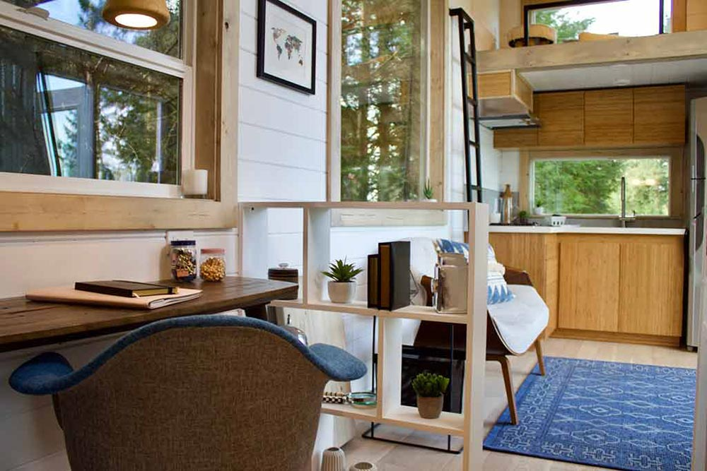 Home Office - Live/Work Tiny Home by Tiny Heirloom
