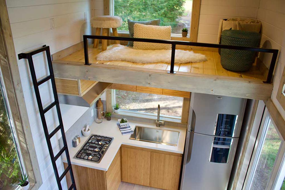 Storage Loft - Live/Work Tiny Home by Tiny Heirloom