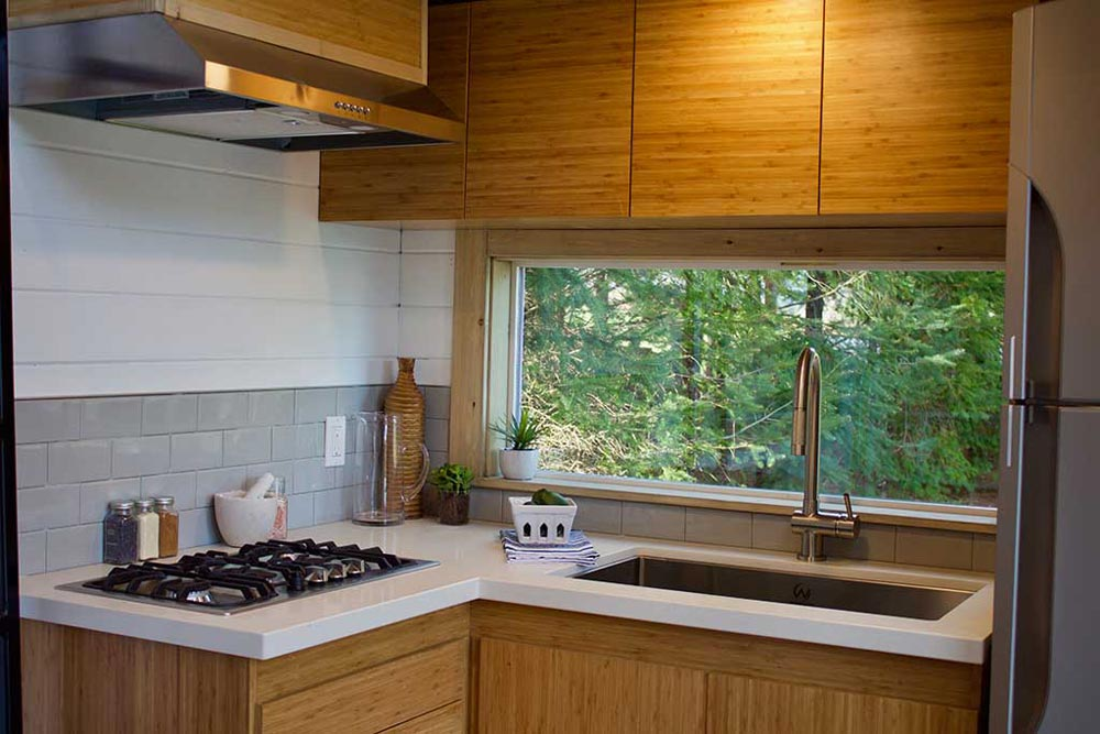 Kitchen - Live/Work Tiny Home by Tiny Heirloom