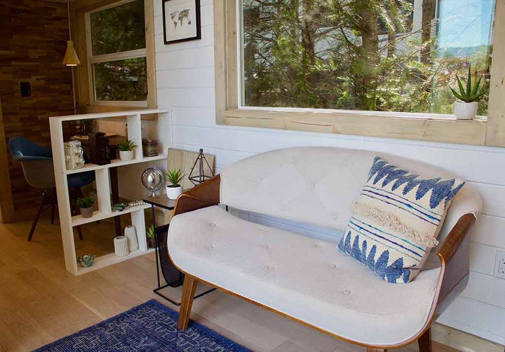 Living Area - Live/Work Tiny Home by Tiny Heirloom