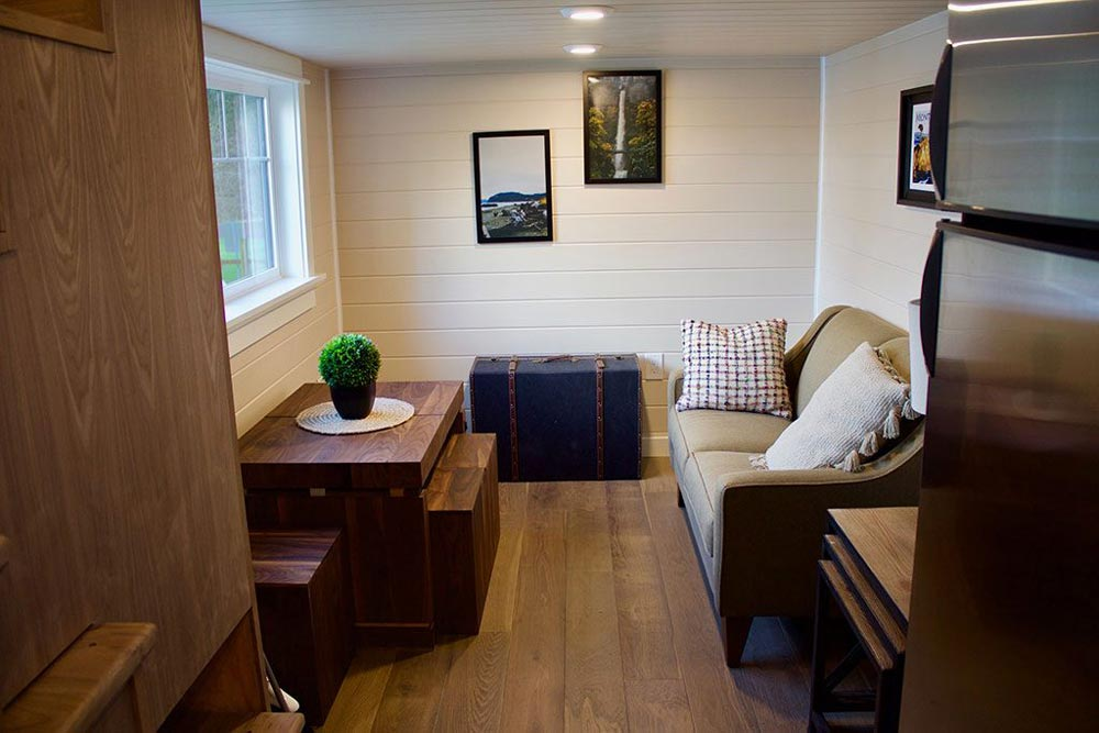 Living Room - Tiny Craftsman Home by Tiny Heirloom