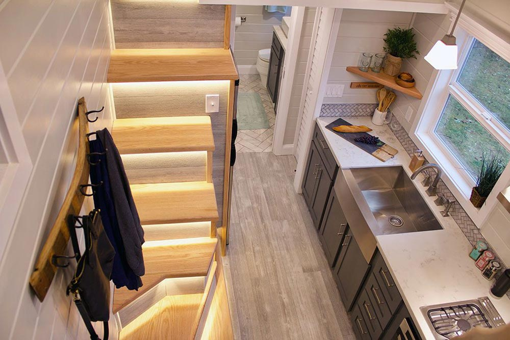 Tiny House Interior - Tiny Replica Home by Tiny Heirloom