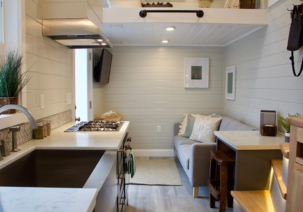 Kitchen & Living Room - Tiny Replica Home by Tiny Heirloom