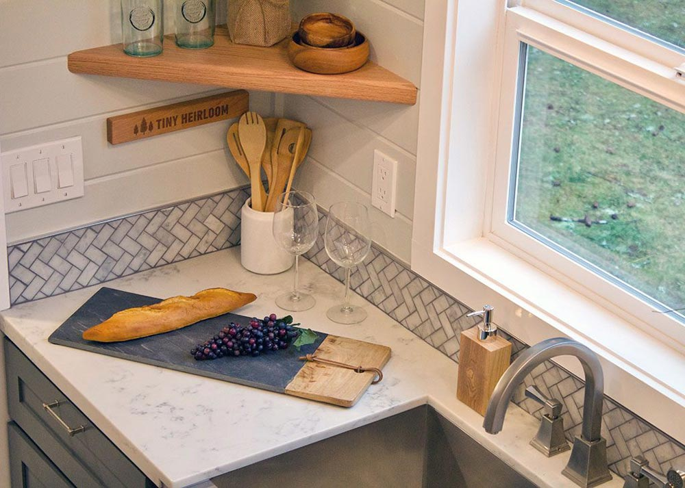 Solid Surface Counter - Tiny Replica Home by Tiny Heirloom