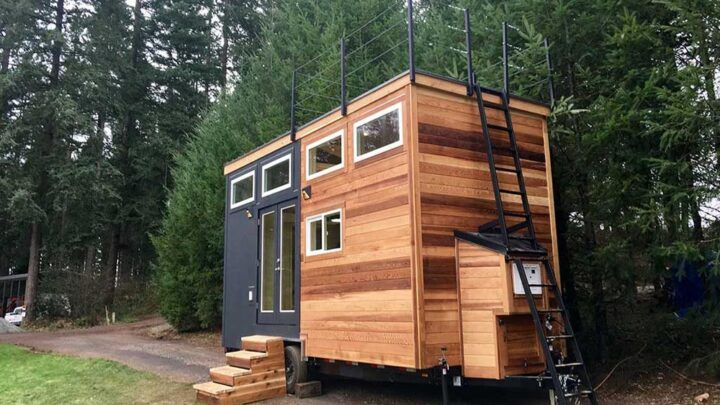Tiny Home of Zen by Tiny Heirloom