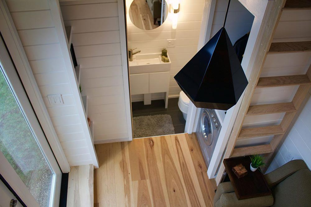 View From Loft - Tiny Home of Zen by Tiny Heirloom