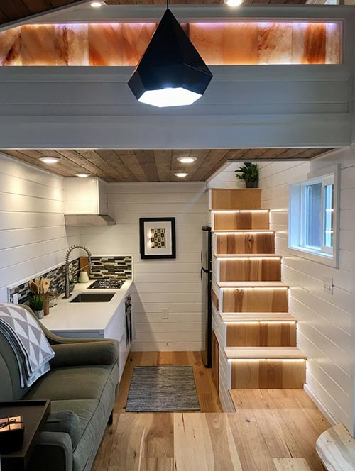Zen Interior - Tiny Home of Zen by Tiny Heirloom