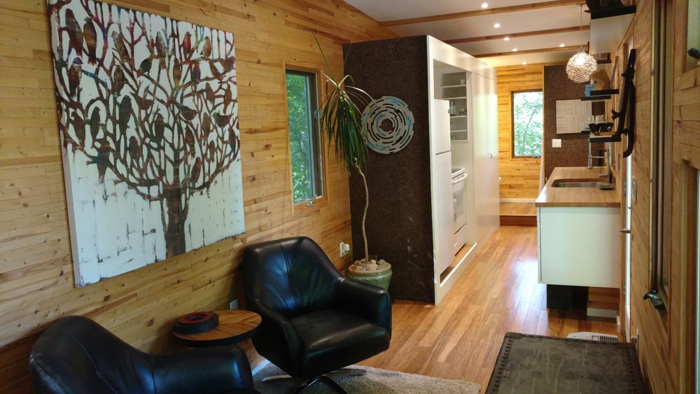 Tiny House Interior - tinyhaus by KMH Concepts