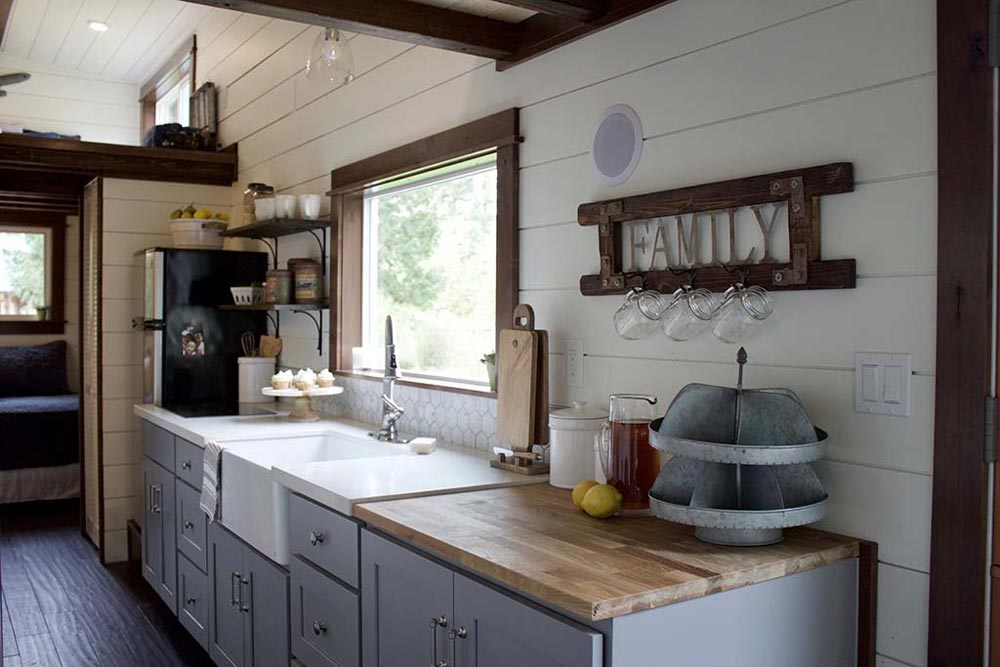 Kitchen - Tiny Traveling Farmhouse by Tiny Heirloom