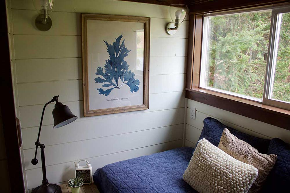 Main Floor Bedroom - Tiny Traveling Farmhouse by Tiny Heirloom