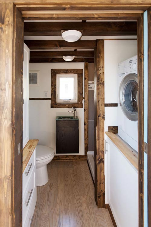 Bathroom - View by Tiny House Chattanooga