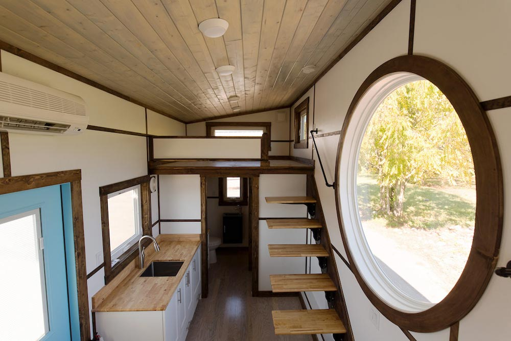 Porthole Window - View by Tiny House Chattanooga
