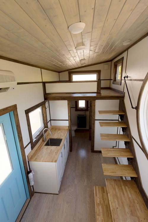 View From Loft - View by Tiny House Chattanooga
