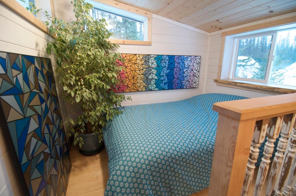 Bedroom Loft - Winter Wonderland by Nelson Tiny Houses