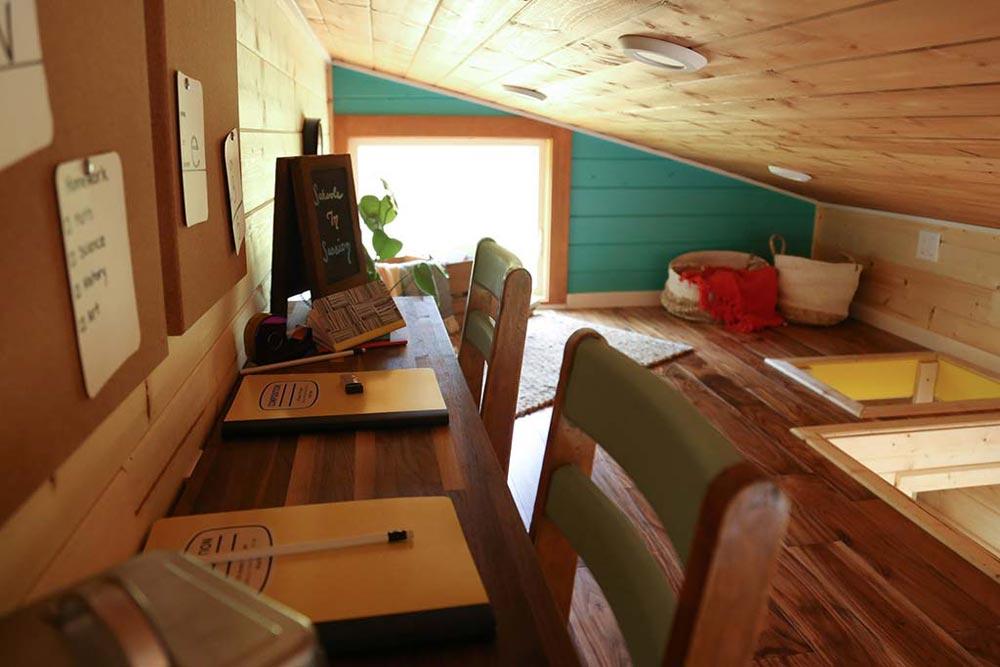 Study Room - Beachy Bohemian by Tiny Heirloom
